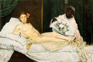 L'histoire d'un scandale: Olympia de Manet par Maël Leroyer @ Mémo, médiathèque de Montauban | Montauban | Occitanie | France