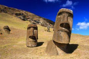 Les Moaï de l'île de Pâques @ Mémo, médiathèque
